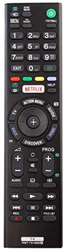 ALLIMITY RMT-TX100D Control Remoto reemplazado por Sony TV KDL-55W756C KDL-55W805C KD-65X8505C KD-65X8507C KD-65X8508C...