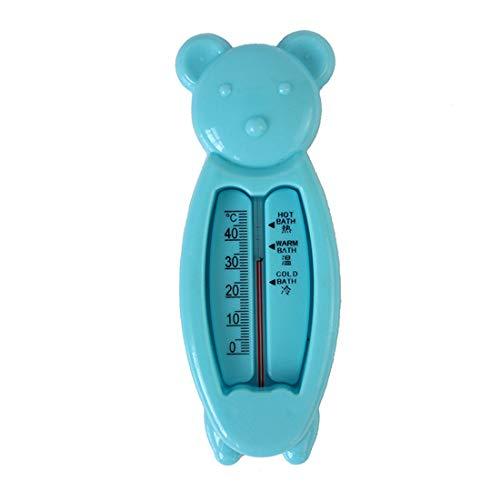 Dibujos animados flotante oso bebé termómetro de agua baño para niños niños lindos juguetes de plástico Tub Sensor de agua