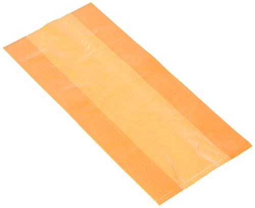 Unique Party-Paquete de 30 bolsas de regalo de celofán, color naranja, (62026)