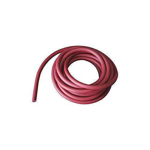 Tubería de Goma para Vacío, 16 mm Diámetro Exterior, 8 mm, Rojo
