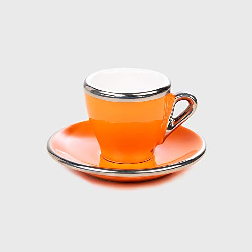 Espresso Tasse Orange Terra Keramik