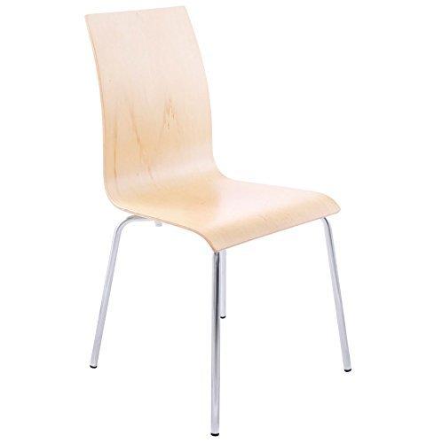 Quai 56 Stühle im Wohnzimmer oder Küche Espera Natur 4Stück