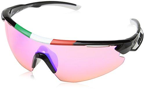 Salice 012ITARW - Gafas de Ciclismo, Color Negro, Talla única