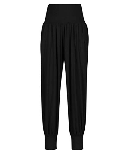 DEHA Damen Yoga-Hose schwarz (200) L