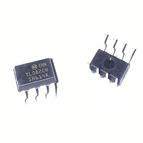 10PCS 10pcs / Lot J-FET Verstärker 2 Stromkreis 8-PDIP TL082
