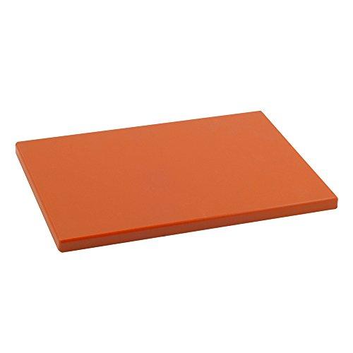 Metaltex -  Tabla de cocina, Polietileno, Mandarina, 33 x 23 x 1,5 cm