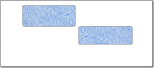 #10 Double Window Envelope Super-cheap Security Fashion ADP Tinted -