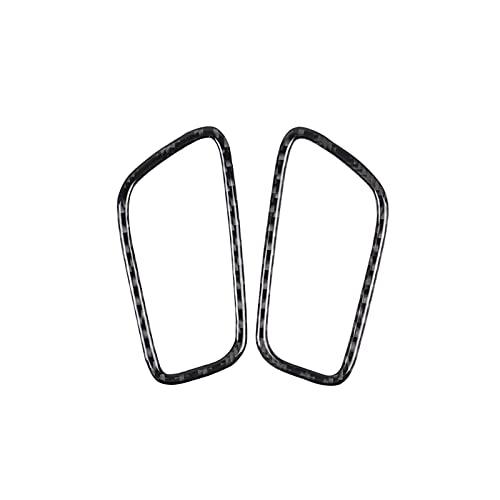 HUAER 2 unids/Ajuste para Porsche MACAN 2015-18 ACUENTES DE Aire Aire Aire Aire DE Ventilador