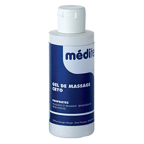 Visiodirect Gel de Massage cryo - Contenance 100 ML