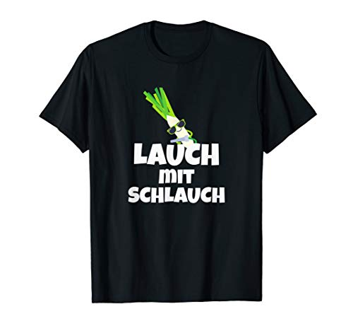 Lauch mit Schlauch Fun Bodybuilding Gym Sport T-Shirt