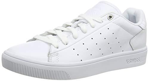K-Swiss Herren Court Frasco II Sneaker, Weiß (White/White 101), 44.5 EU