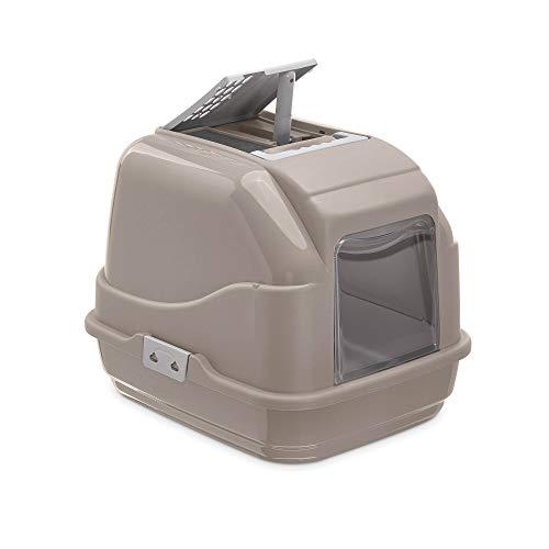 IMAC Easy Cat - Toilette Chiusa Per Gatti, Grigio