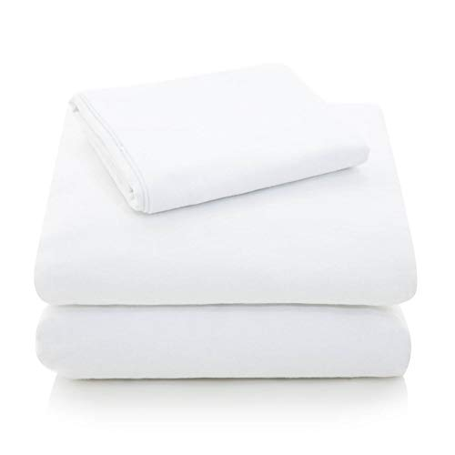 MALOUF Heavyweight Portuguese Flannel Sheet Set-100% Cotton Pill...