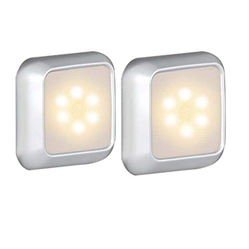 センサーライト 人感 電池式 高輝度 LEDセンサーライ ワイヤレス 夜間ライト 階段ライト 自動点灯 省エネ 超寿命 満電状態長時間使用可 寝室 乳室 小屋 廊下 トイレ 職場 地下室 ガレージ入口 屋外 階段などはすべて適用されています 2個セット(暖