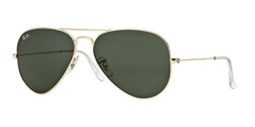 Ray-Ban MOD. 3025 SUN 001/14 Gafas de sol, 58 cm hombre^mujer