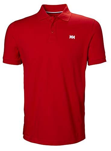 Helly Hansen Transat Polo, Hombre, Alert Red, S