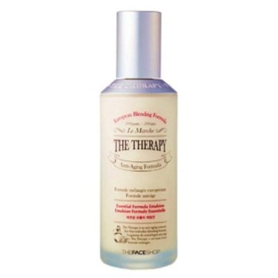 傷つける偏差アクセス[The Face shop] The Therapy Essential Formula Emulsion 130ml