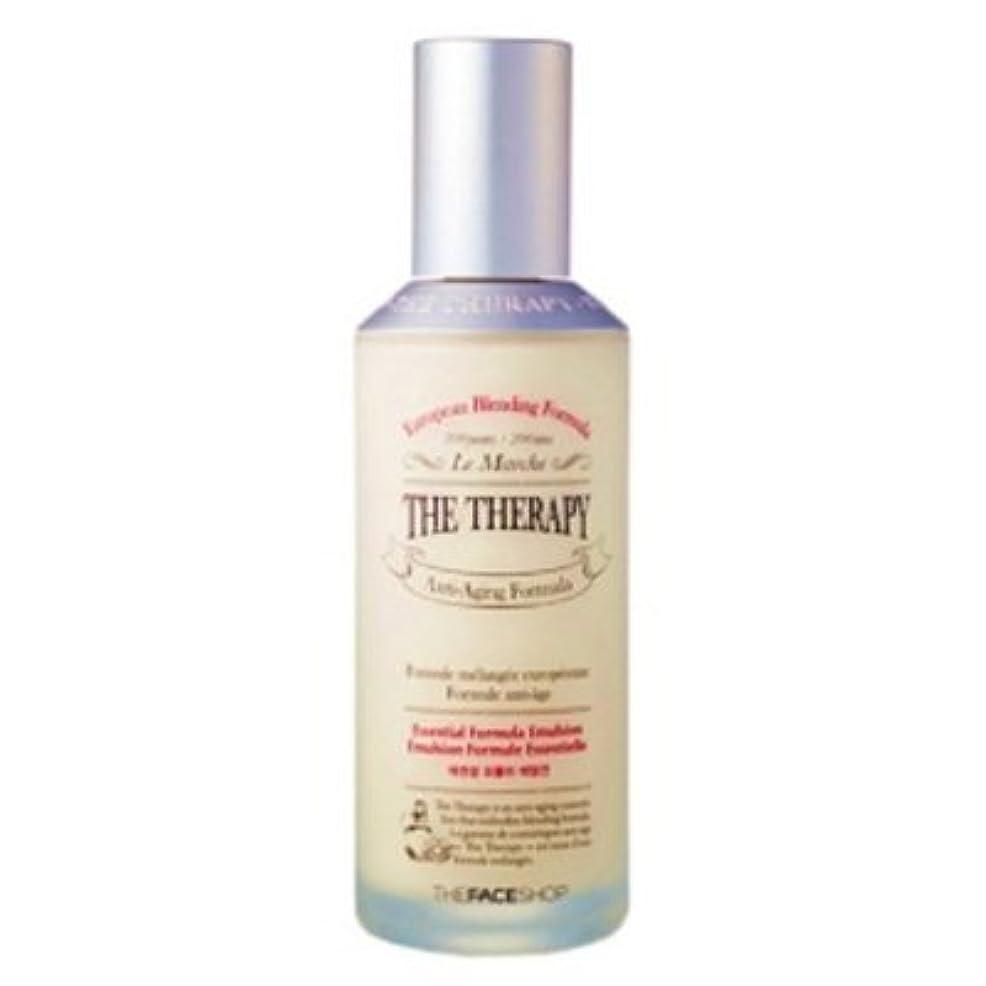 マントル高速道路文字通り[The Face shop] The Therapy Essential Formula Emulsion 130ml