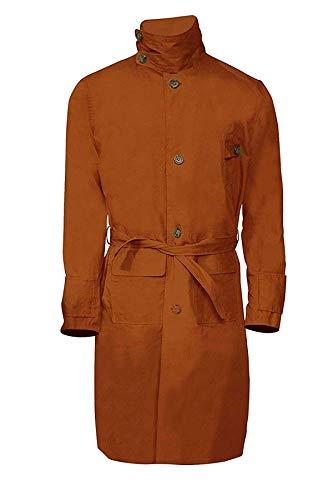 Harrison Ford Blade Runner Rick Deckard - Abrigo largo de algodón, color marrón