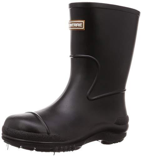 [アキレス] レインブーツ 長靴 軽量 日本製 14cm~21cm 2E キッズ 男の子 女の子 SCB 1070 黒 17.0 cm