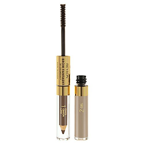 Revlon Brow Fantasy Pencil & Gel, Dark Blonde [104], 0.04 oz