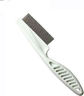 Pet Hair Flea Comb Stainless Pin Dog Cat Grooming Brush Clean Tool