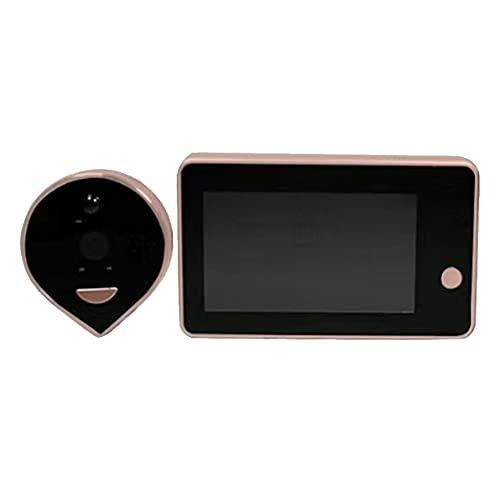 Timbre inteligente con vídeo WiFi para puerta con detección de monitor de seguridad, control por teléfono, vídeo HD 1080p, detección de movimiento avanzada y fácil instalación.
