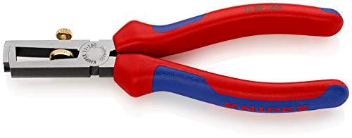 KNIPEX Abisolierzange mit Öffnungsfeder, universal (160 mm) 11 02 160