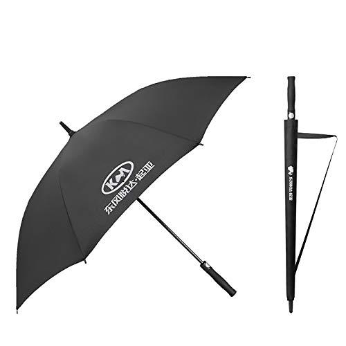HHY-X Auto tragbarer klappbarer Regenschirm Sonnenschirm mit Auto-Logo, KIA, Jeep, Volvo, Mazda, Ford,Kia