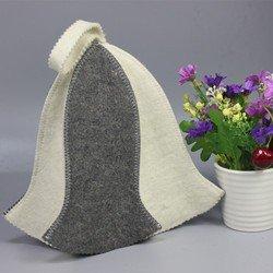 Generic Regenschirm Design Sauna Filz Hat, Hot Verkauf in Russland, Head circumfece Größe 70cm