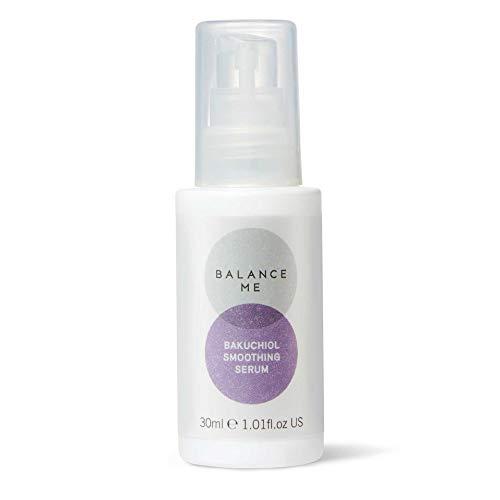 Balance Me Bakuchiol Smoothing Serum – Gentle Retinol Alternative – Anti-Ageing Face Serum – Anti-Pollution & Blue Light Protection – All Skin Types – Natural, Vegan & Cruelty Free – Made In UK – 30ml