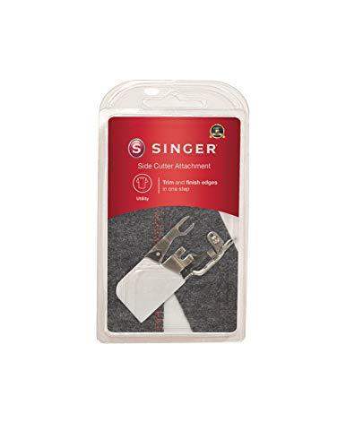 SINGER | Seitenschneider-Aufsatz Nähfuß, schneidet und säumt Kanten, Zick-Zack oder Überstich - Nähen leicht gemacht