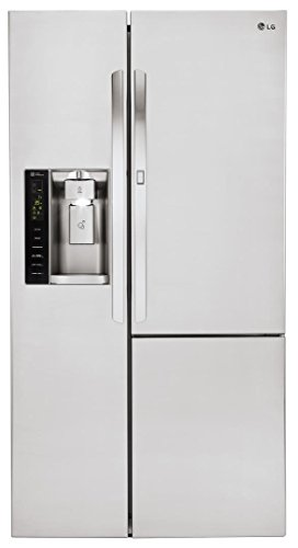 LG LSXS26366S26.0 Cu. Ft. Stainless Steel Side-By-Side Refrigerator - Energy Star