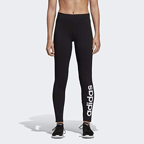 adidas Damen Essentials Linear Tights, Black/White, M - 8