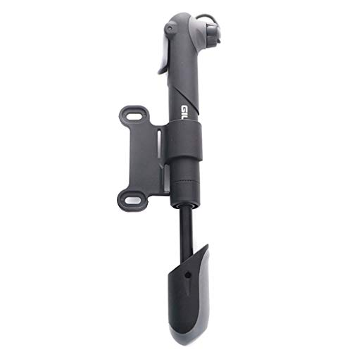 fengchensety Mini Portable High Pressure Bike Tyre Pump F/V and A/V with Tire Pressure Gauge