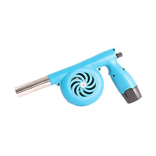 Grillgebläse Tragbare Handheld Elektrische BBQ Fan, für Outdoor Camping Picknick Grill Kochen Werkzeug