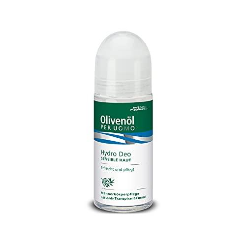 Medipharma Cosmetics, Olivenöl Per Uomo Hydro Deo, 50 ml