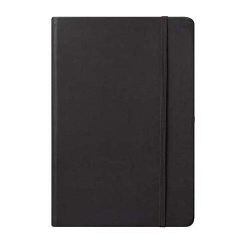 Eccolo World Traveler Cool Jazz Journal, Black, 6 x 8 Inches (BC401N)