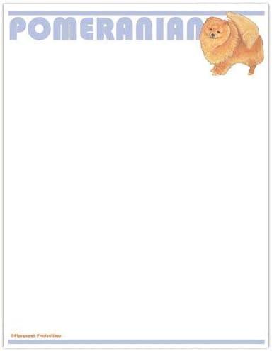 Animal Theme Gifts Pomeranian 2021 model Large Stationery Sales results No. 1 Set