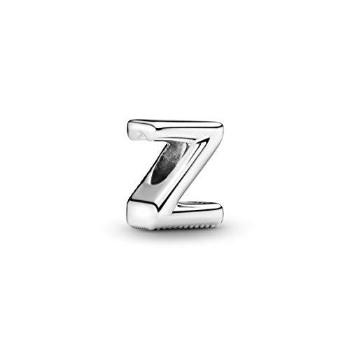 Pandora Z silver charm