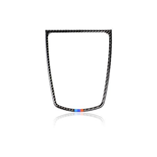OutdoorKing Altoparlante del Cruscotto in Fibra di Carbonio Pannello del Cambio Luce di Lettura Copertura Volante Adesivi Decorativi per BMW Serie 5 F10 2011-2017 (Color : Dashboard Speaker)