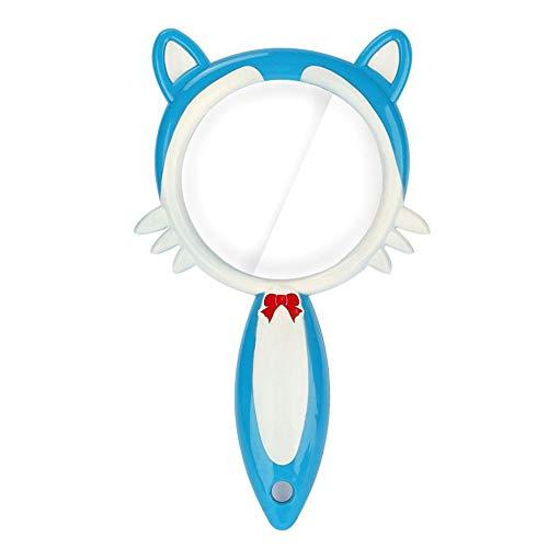 Zerone Kids Explorer Toy Lupa de Mano Lente acrílica Forma de Dibujos Animados portátil Lupa