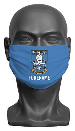 Personalised Sheffield Wednesday FC Crest Adult Face Mask - Medium