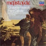 BOITO MEFISTOFELE Ghiaurov-PAVAROTTI LUCIANO (TENOR) Freni Caballe MUSICA CLASICA National Philharmonic Orchestra London Opera Chorus UPC 028941017529 POL 00410175
