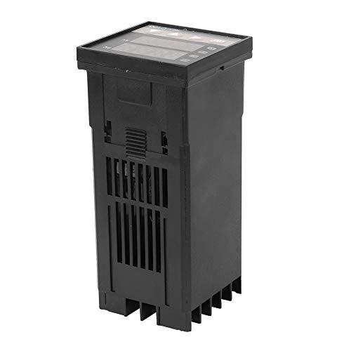 Termostato, controlador de temperatura digital, relé de estado sólido de tipo estándar Sensor de sonda tipo K para temperatura ambiente doméstico al aire libre sin gas corrosivo