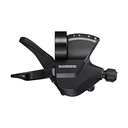 Shimano Unisex– Erwachsene SL-M315 Schalthebel, schwarz, 8-Fach