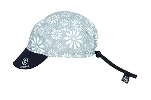 Chaskee Reversible Cap Happy Flowers, Grau, one size
