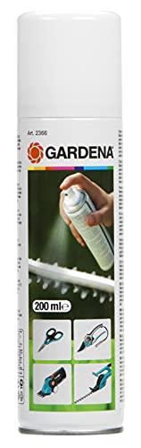 Gardena Pflegespray: Geräte-Pflege zur Wartung und Pflege der Gartengeräte, biologisch abbaubar, Inhalt 200 ml (2366-20)