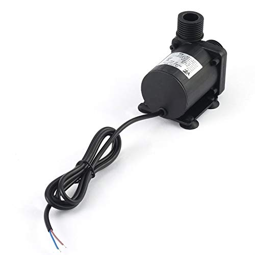 HibiscusElla DC 24V 3.8M Magnetic Electric Centrifugal Water Pump Hotsell for Aquarium Solar-Panel Circulate System Water Heater etc.
