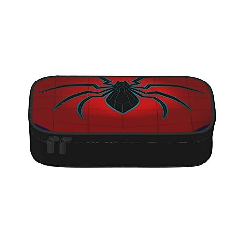 Monedero de lona de Spiderman con cremallera, monederos para mujeres, hombres y niños